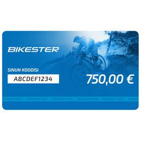 Bikester lahjakortti 750 €